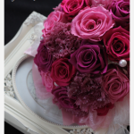 花嫁さまのお母様が作られたブーケ