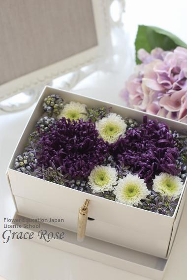 プリザーブドフラワー仏花お供え花