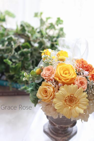 プレ花嫁様 結婚準備 贈呈花作り群馬県太田市花教室
