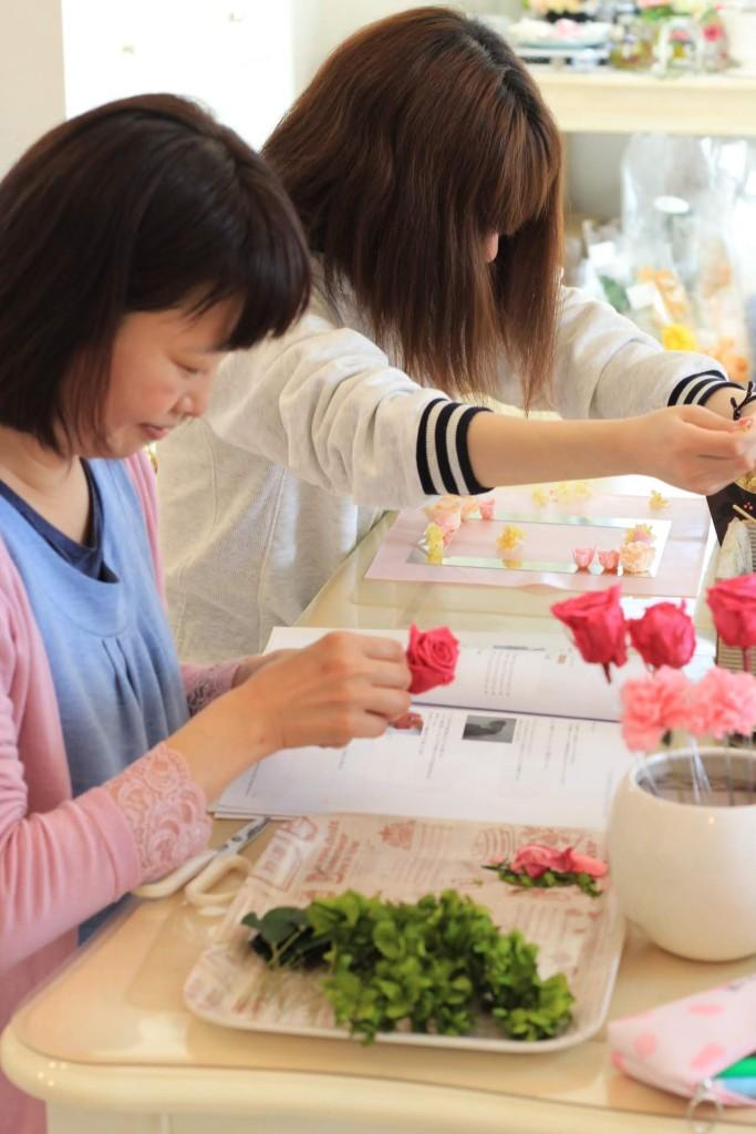 資格が取れる花教室群馬県太田市